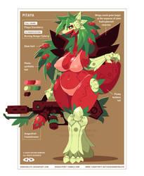 Pitaya Dracoberry - Burning Ranger Cyberry by DoNotDelete