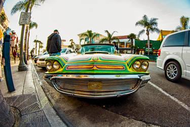 Huntington Beach cars by KBgraphix