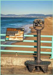 Manhattan Beach by KBgraphix