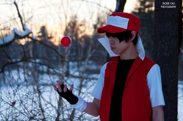 Pokemon: Trainer Red 04 by JcaoFoto