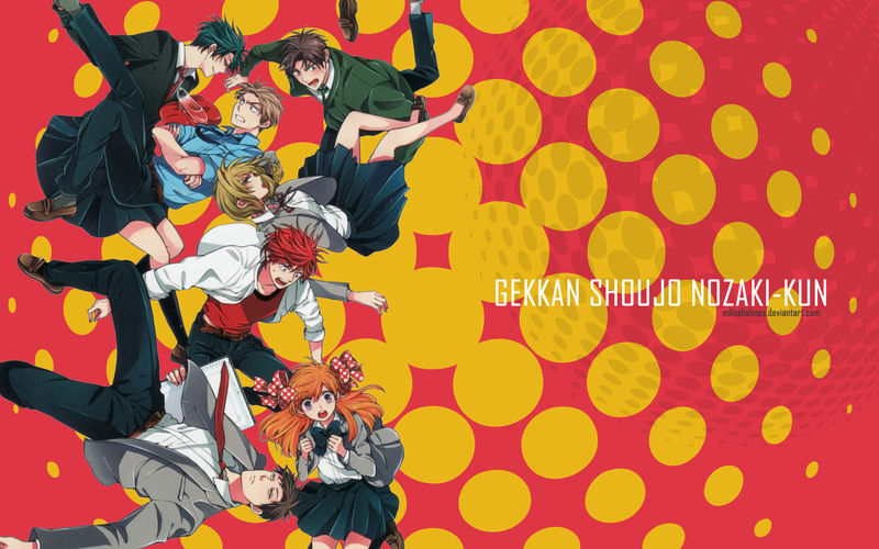 Gekkan Shoujo Nozaki Kun Wallpaper By Edinaholmes On Deviantart