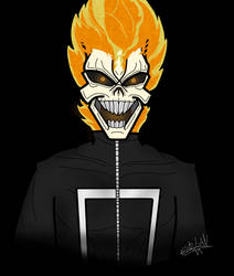 Robbie Reyes Ghost Rider From Agents of Shield by EstebanRedge50