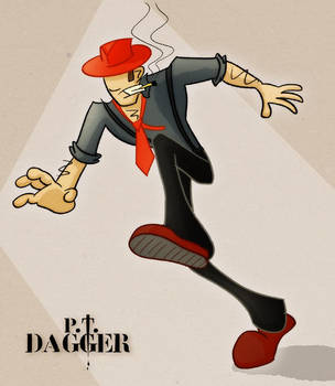 P.T. Dagger - In colour by chuzwuzza