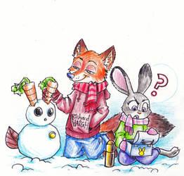 Zootopia - Snow Bunny by Pen-Mark