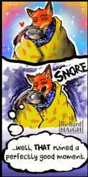 Zootopia - Snoring  by Pen-Mark