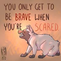 Bravery by KumaMask