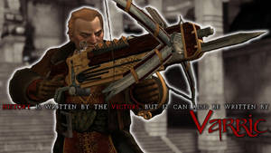 Varric Wallpaper by thesnowtigress