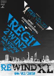 Poster Rewind XL 2010 by VectoriusTanne