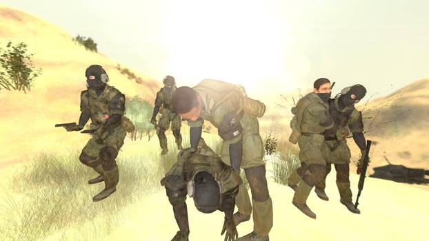 Wandering Msf Soldier By Bubbagan On Deviantart