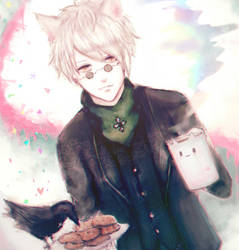 Ozpin meow by fran-666