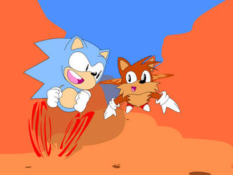 Sonic and Tails Adventure  by 0nesCompany