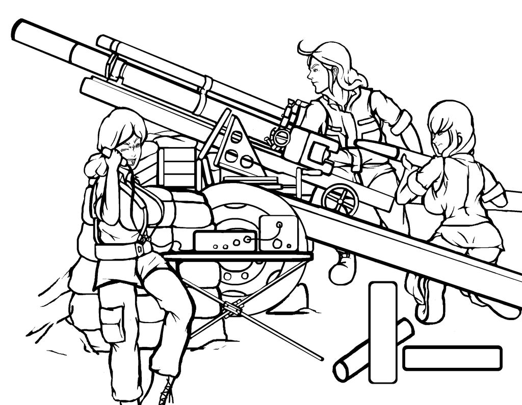 m2a1 one oh five 105mm medium range towed howitzer by ilageater on 105Mm Projectiles m2a1 one oh five 105mm medium range towed howitzer by ilageater