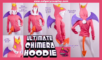 Ultimate Chimera Hoodie by KayPikeFashion