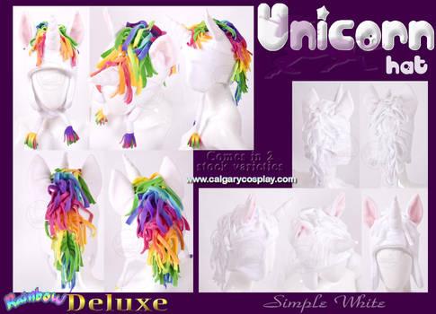 Fleece Aviator Unicorn Hat by KayPikeFashion