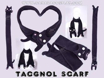Tacgnol Scarf Fleece Plush by KayPikeFashion