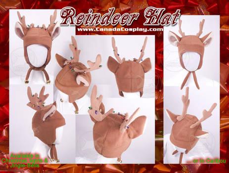 Christmas Reindeer Hat  WINNER by KayPikeFashion
