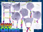 Nyan Cat Hat by KayPikeFashion