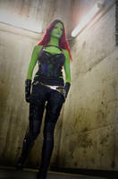 Gamora, Guardians of the Galaxy cosplay Animethon by KayPikeFashion