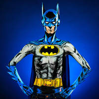 Batman Bodypaint by KayPikeFashion