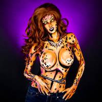 Cheetah Bodypaint by KayPikeFashion