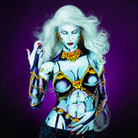Lady Death Bodypaint by KayPikeFashion