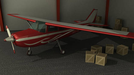 CG Cessna by whitefennec