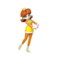 Princess Daisy Alt. Render Vancouver 2010 by CaitlinTheStarGirl