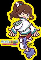.:Tsuki - Puyo Puyo Tetris:. by CaitlinTheStarGirl