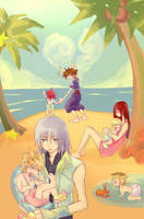 KH2: welcome home by illbewaiting