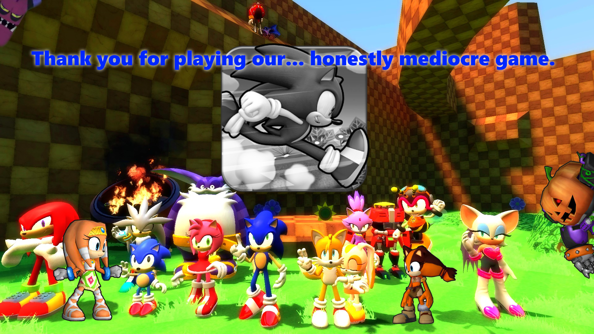 Sonic Runners Thank You Message Fan Made By Toad900 On Deviantart