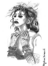 'Like a Virgin' Madonna by Krystianovsky