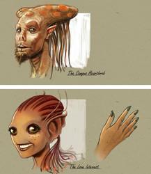Nescafe Aliens by eschaal