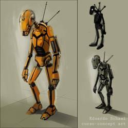 robot sketch by eschaal