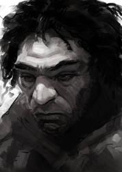 Adam - sketch by eschaal