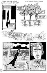 Where Poe Once Walked by H.P. Lovecraft by RyanValentineComics