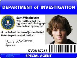 Sam Winchester ID by onepbigfans