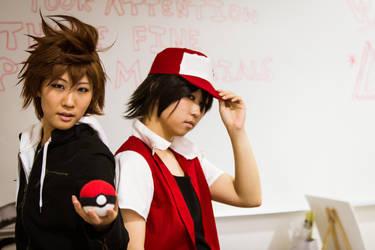 AE: Akimatsuri - Green and Red by hikari-twilight