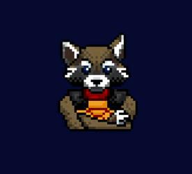 Rocket raccoon by DARKRAG0N