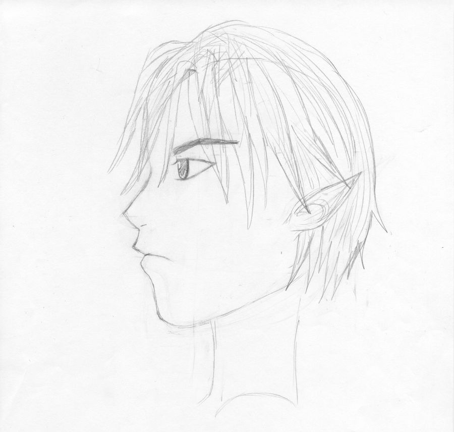 Anime Guy Side View By Silver2000280 On Deviantart
