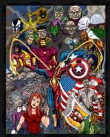 Spider-Man Civil War by albiemo