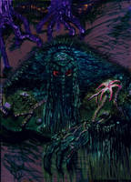 The Man-Thing by albiemo
