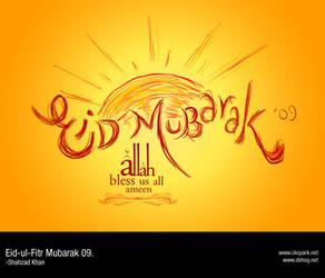 Eid ul Fitr 09 Mubarak by dehog