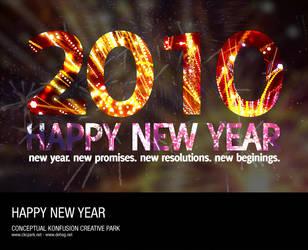 Happy New Year 2010 by dehog