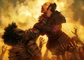 Undead Samurai by reau