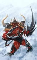 Warhammer 40k - Possessed Marine by reau