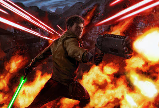Star Wars - Kyle Katarn by reau