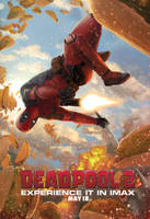Deadpool2 Jarreau IMAX Poster by reau