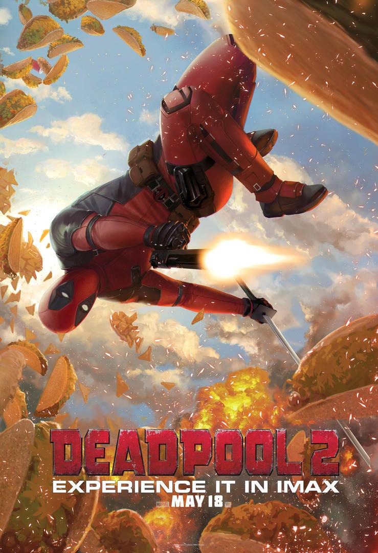 Deadpool2 Jarreau IMAX Poster by reau