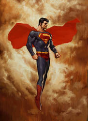 SUPERMAN PARADISE LOST by reau