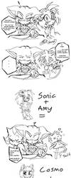 Sonic plus Shadow equals ??? by f-sonic
